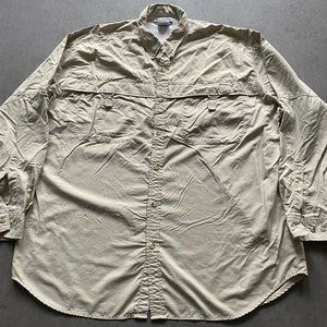 Columbia PFG  30+ upf fishing vented Shirt Top XL